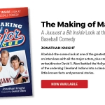 Cleveland books from Gray & Company: The Making of Major League, by Jonathan Knight