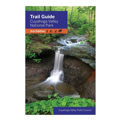 Trail Guide to Cuyahoga Valley National Park 3rd Edition, by Cuyahoga Valley Trails Council. Published by Gray & Company, Publishers. Front cover of book.