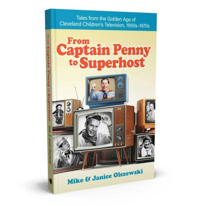 "Book cover image of ""From Captain Penny to Superhost"" by Mike and Janice Olszewski"