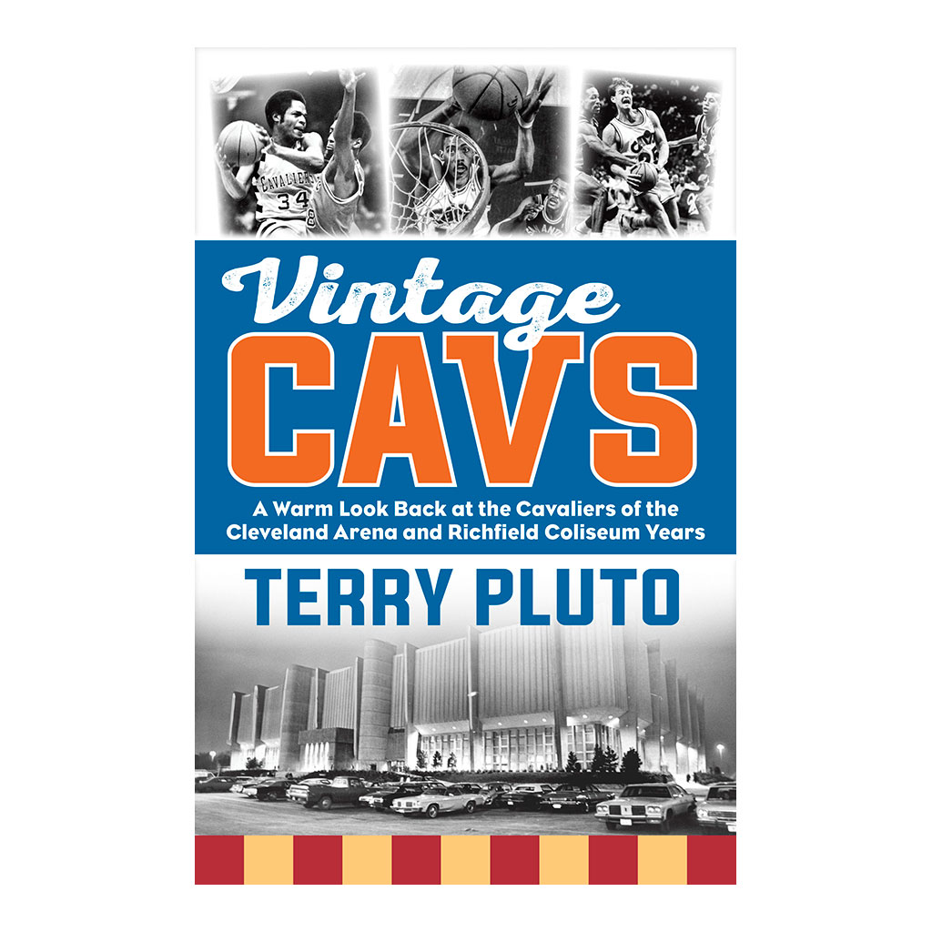 Book cover image of Vintage Cavs by Terry Pluto