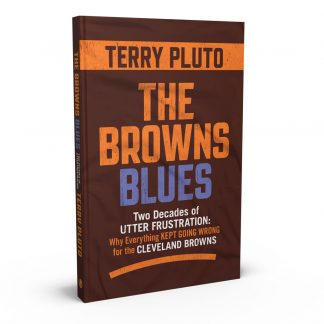 The Browns Blues: Two Decades of Utter Frustration: Why Everything Kept Going Wrong for the Cleveland Browns, a book by Terry Pluto from Gray & Company, Publishers – front cover