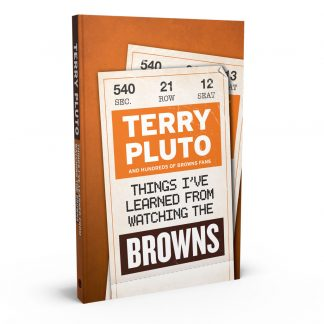 Things I've Learned from Watching the Browns, a book by Terry Pluto from Gray & Company, Publishers – front cover