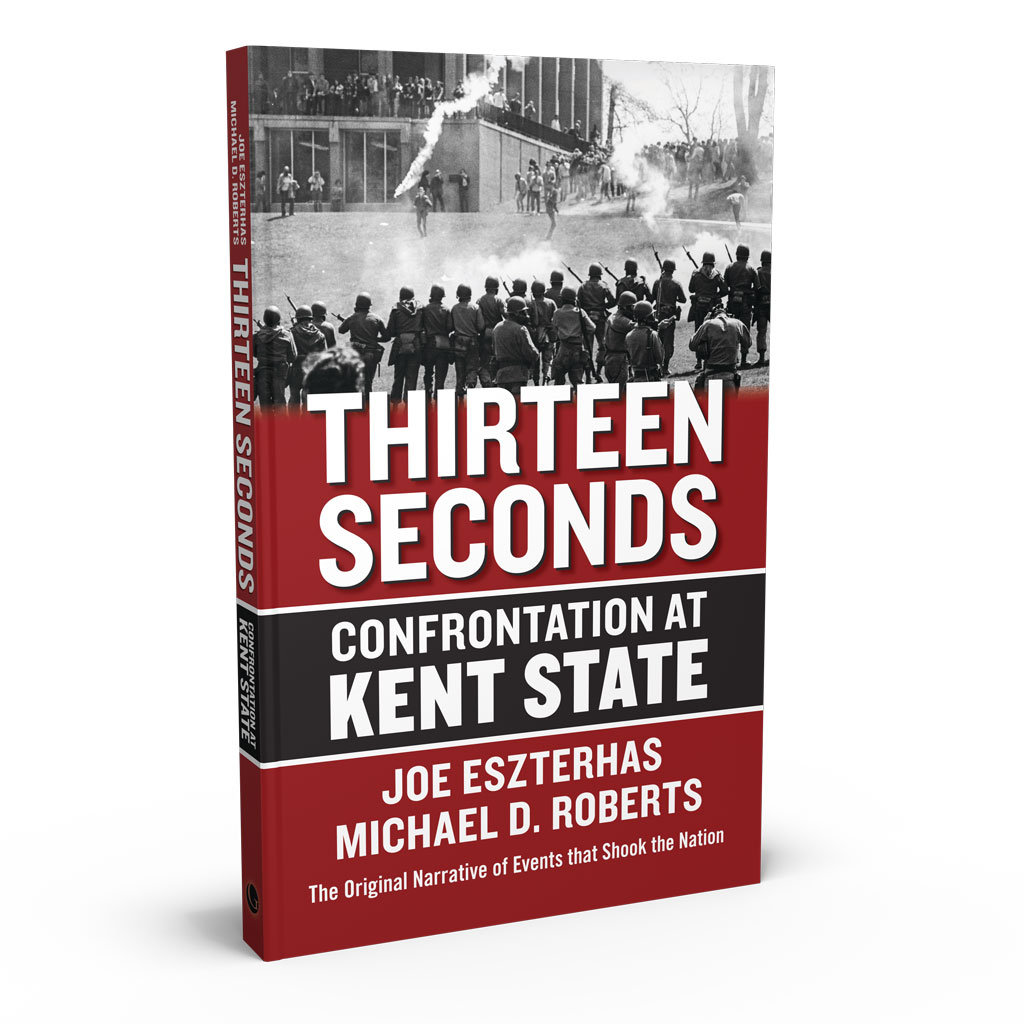 Thirteen Seconds: Confrontation at Kent State, a book by Joe Eszterhas and Michael D. Roberts from Gray & Company, Publishers – front cover