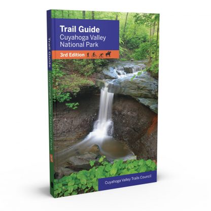 Trail Guide to Cuyahoga Valley National Park 3rd Edition, a book by Cuyahoga Valley Trails Council from Gray & Company, Publishers – front cover