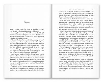 """Sample pages from the book """"My Ticket to Ride"""" by Janice Mitchell"""